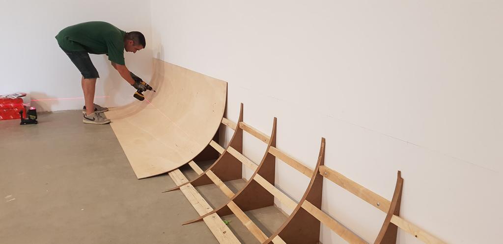 construction cyclorama studio